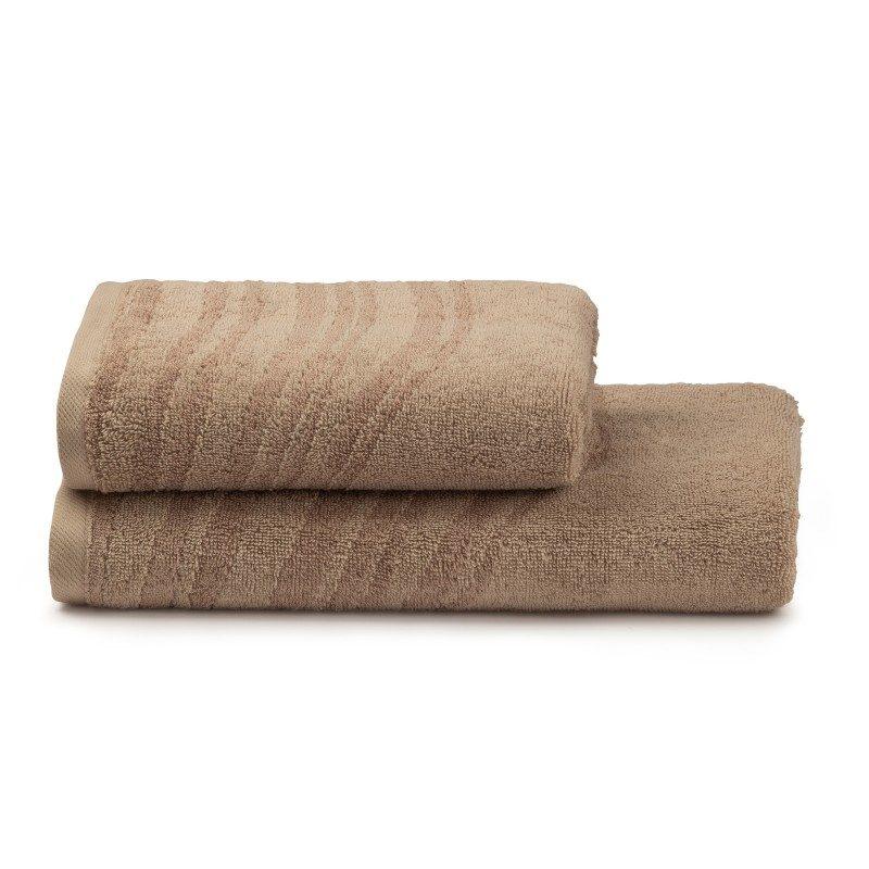 Ručnk od visoko upijajućeg pamuka i bambusovih vlakana. Bambus vlakna imaju još veću moć upijanja i stoga se brže suše. Tkani u reljefnoj strukturi. Ručnik je periv na 60 °C.