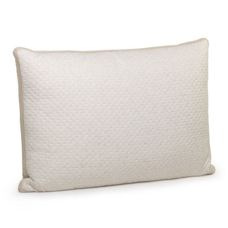 Klasični oblik jastuka Cannabia Soft je univerzalan i primjeren za sve položaje spavanja i osobe koje vole gužvati i savijati jastuk tijekom sna. U navlaku jastuka ušivena su prirodna vlakna konoplje za iznimnu prozračnost i duži životni vijek jastuka. Jastuk je u cijelosti periv na 60 °C.