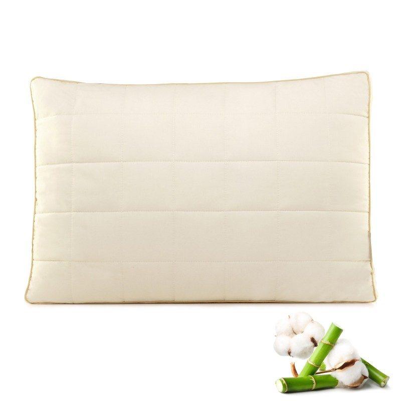 Klasičan oblik All Sides Sleep jastuka uvjerit će vas svojom univerzalnošću. Jastuk je primjeren za sve položaje spavanja. Vaša koža je u dodiru sa 100% nebijeljenim pamukom i bambusovim vlaknima koji pružaju još više svježine i higijensko okruženje za spavanje. Jastuk je u cijelosti periv na 60 °C.