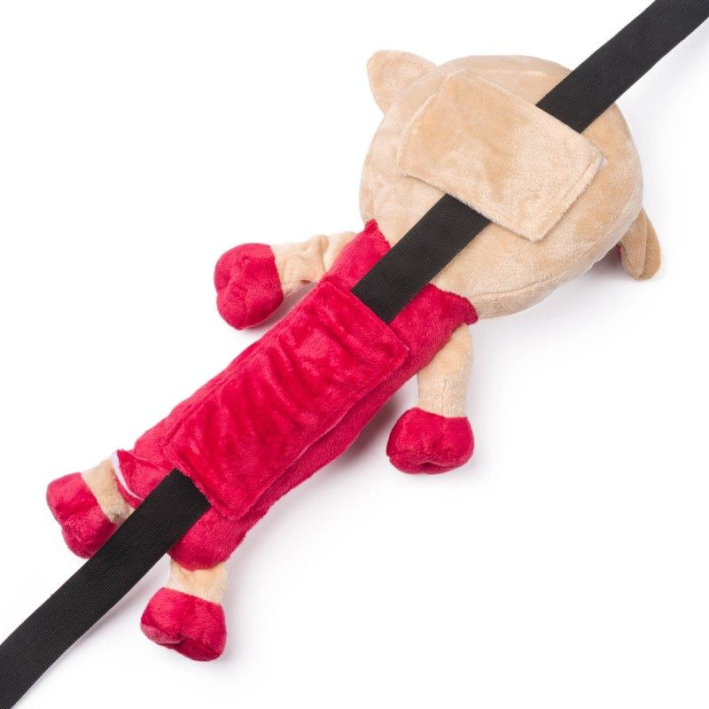 Djeca ga obožavaju! Mekani jastučić za putovanje, koji je prije svega velika zaštita za sigurnosni pojas, ali i lijepa igračka za Vaše dijete.