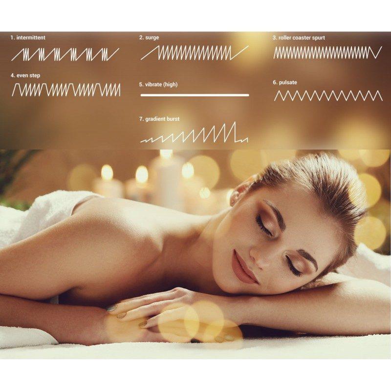 Masažni vibracijski aparat Svilanit Marshal Massager 2GO Relax  vam svojih 7 razina simuliranja osigurava opuštajuću masažu bilo kojeg dijela tijela.