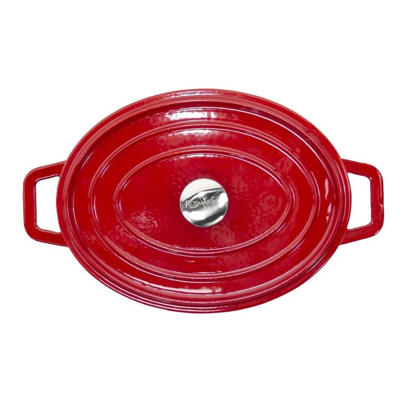 Za sve ljubitelje kuhanja i gurmane koji od posuđa očekuju najviše. Lonac Blacksmith's od lijevanog željeza vrhunske je izrade, visokokvalitetan i nevjerojatno svestrane upotrebe. Naše posuđe iz linije Blacksmith's karakterizira moderan dizajn i nevjerojatna izdržljivost lijevanog željeza i emajliranog premaza. Prikladan je za sve ploče za kuhanje, uključujući indukciju i upotrebu u pećnici.