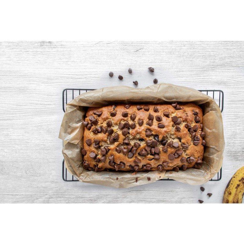 Viši pekač s eefektom vrućeg kamena omogućuje prirodnu pripremu hrane, s puno manje masnoće. Za pripremu hruha i raznih kolača. Pekač dimenzija 30,5 x 16 x 6,5 cm.