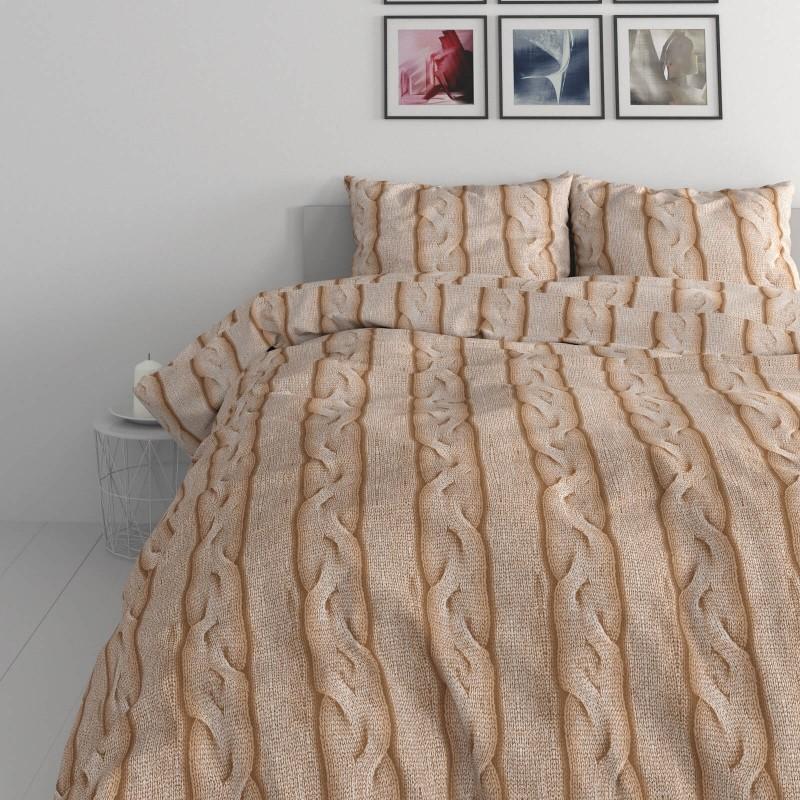 Vrijeme je za potpuno uživanje u modernim pamučnim posteljinama! Posteljina Braid Cable od renforce platna, mekane tkanine, jednostavne za održavanje. Posteljina je čudesan je ukras vaše spavaće sobe, a u isto vrijeme odličan izbor za udoban i ugodan san. Posteljina je periva na 40 °C.