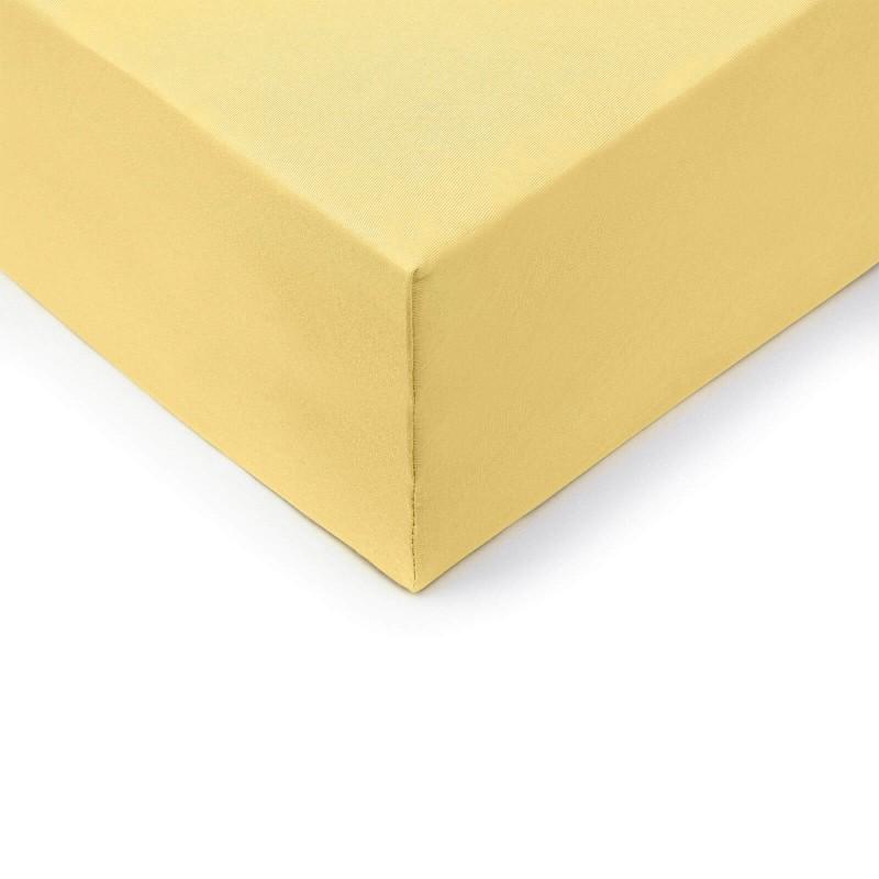 Pamučna plahta s gumicom Lyon od 100% gusto tkanog pamuka. Plahta je primjerena i za više madrace, do visine od 45 cm.
