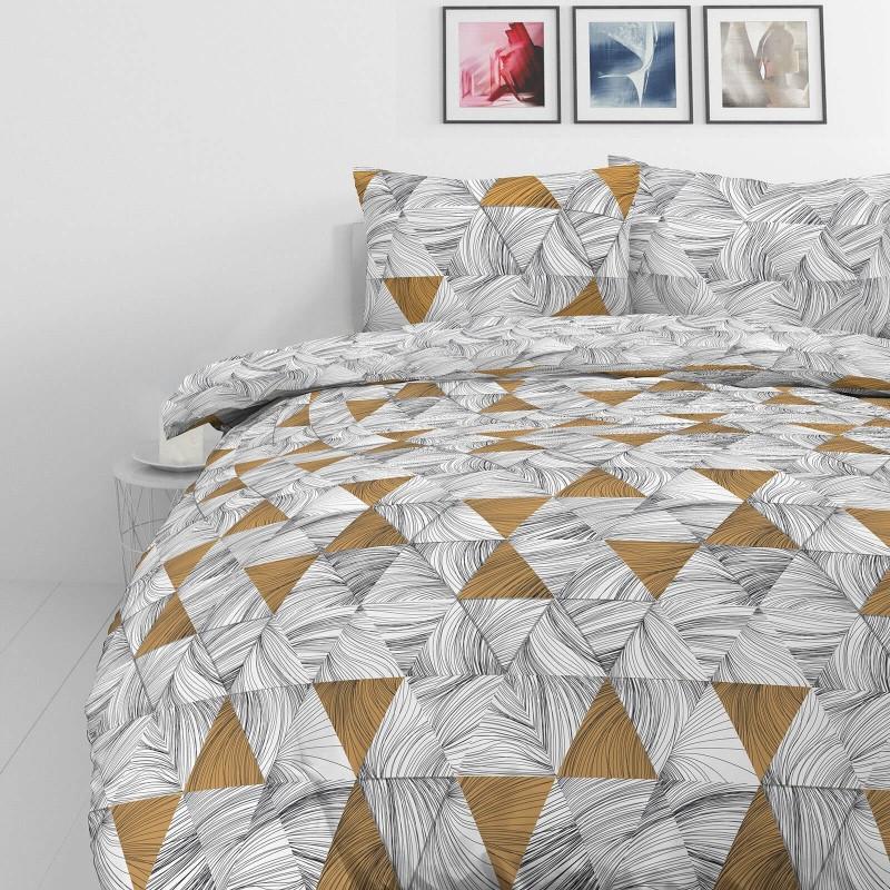Vrijeme je za potpuno uživanje u modernim pamučnim posteljinama! Posteljina Tri Drawn od mekanog pamučnog satena, koji je satkan od visokokvalitetnog, tankog tkanja. Posteljina od satena je prekrasan ukras vaše spavaće sobe, a u isto vrijeme odličan izbor za udoban i ugodan san. Posteljina je periva na 40 °C.