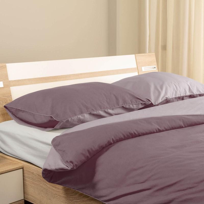 Vrijeme je za ugodno spavanje s modernom pamučnom posteljinom! Posteljina Plum od renforce platna, lagane i mekane tkanine koja se lako održava. Posteljinu je moguće koristiti s obje strane. Posteljina je periva na 40° C.