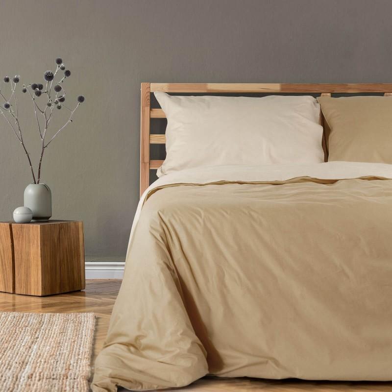Vrijeme je za ugodno spavanje s modernom pamučnom posteljinom! Posteljina Sandcastle od renforce platna, lagane i mekane tkanine koja se lako održava. Posteljinu je moguće koristiti s obje strane. Posteljina je periva na 40° C.