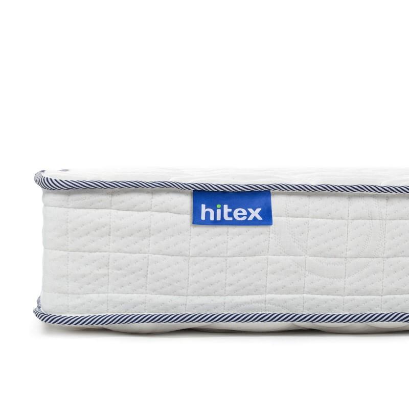 5-zonski madrac s džepičastim oprugama, Hitex Spring Air Comfort 22, visok je 22 cm i pruža potpunu potporu vašem tijelu i udobnost, osiguravajući vam da se ujutro probudite odmorni. Pojedinačne džepne opruge, u kombinaciji s dodatnim slojem filca u jezgri i memorijskom pjenom u tri sloja, osiguravaju pravilan položaj i opuštajući san.