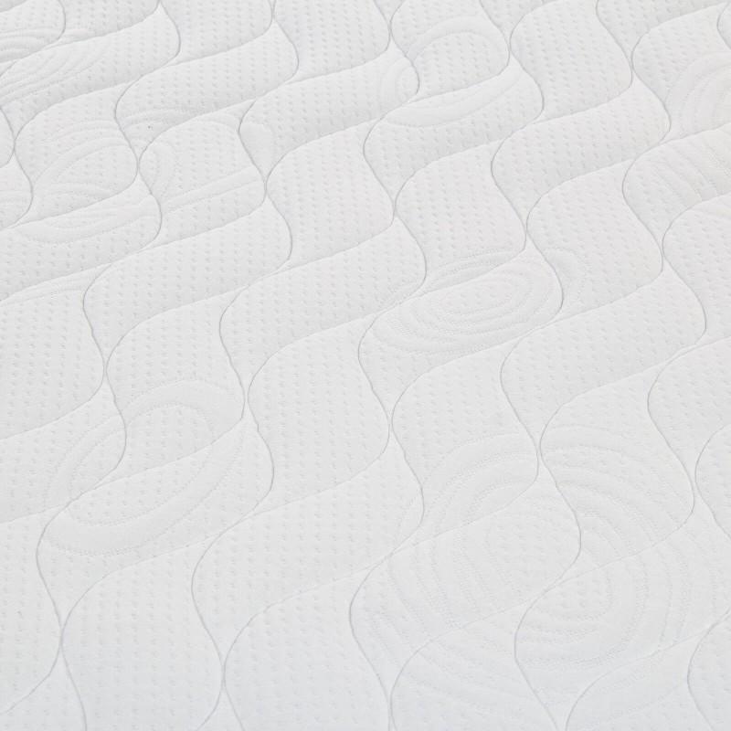 7-zonski madrac s džepičastim oprugama, Hitex Antistress Royal 33 Memory visok je 33 cm, što pruža potpunu potporu vašem tijelu i udobnost te osigurava da se ujutro probudite odmorni. Pojedinačne džepne opruge u kombinaciji s dodatnim slojem elastične pjene u jezgri, poliuretanske pjene i memorijske pjene u navlaci madraca osiguravaju savršeno prianjanje, osiguravaju pravilan položaj tijela i pružaju vam opuštajući noćni san.