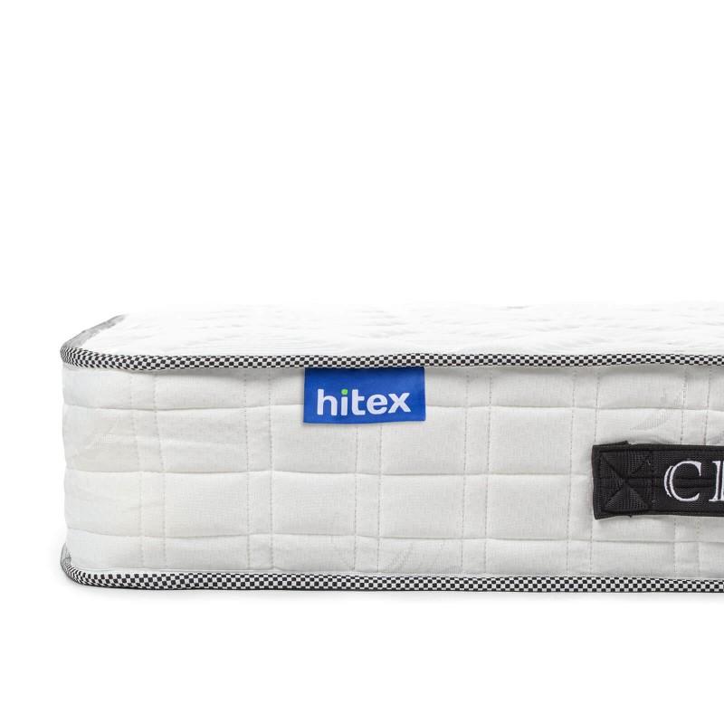 20 cm visoki madrac s oprugama Hitex City Wave 20 pruža potpunu podršku vašem tijelu i udobnost te osigurava da se ujutro probudite naspavani i odmorni. Sustav jedne opruge Single Spring, u kombinaciji s dodatnim slojem filca u jezgri te tri sloja Sensa Memory pjene i dodatnih 2 cm u oblozi osiguravaju pravilan položaj spavanja i opuštanje.