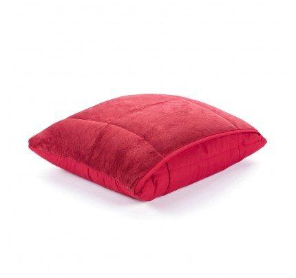 Dekorativni pokrivač/jastuk Vitapur SoftTouch 4u1 – crveni