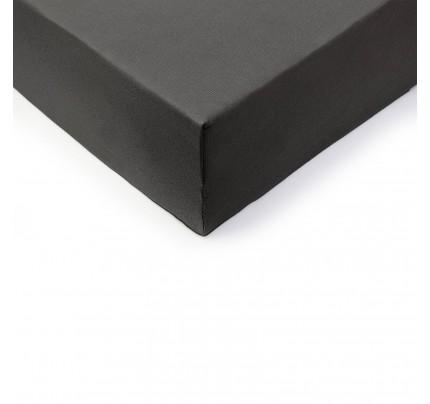 Pamučna plahta s gumicom Lyon - siva