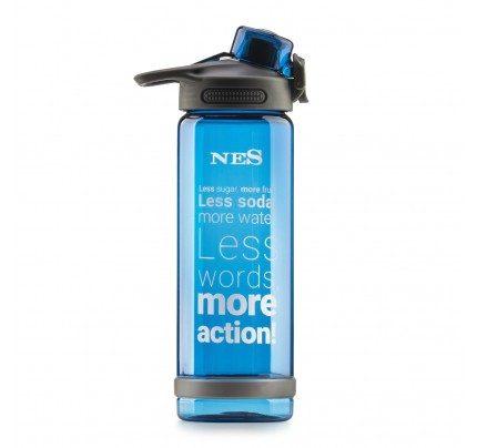 Boca za vodu NES - plava, 700 ml
