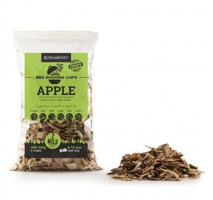 Aromatični čips za roštilj – jabuka