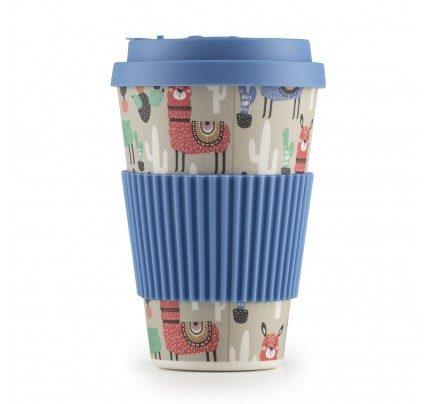 Rosmarino bambus šalica za kavu Ljama - 400 ml