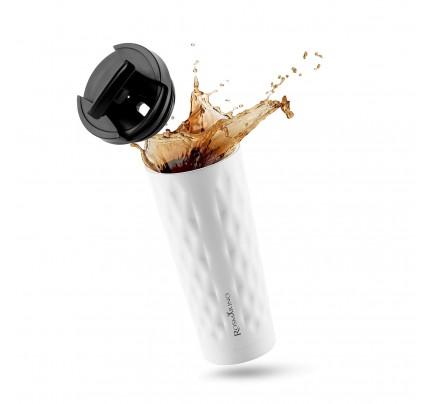 Termo lončić za kavu ili čaj Rosmarino 500 ml - bijeli