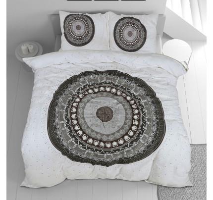 Pamučno satenska posteljina Svilanit Circle