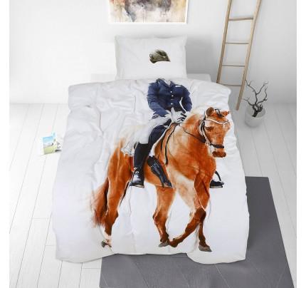 Dječja pamučna posteljina Svilanit Rider