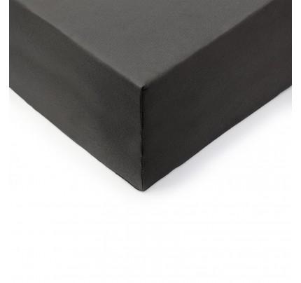 Pamučna plahta s gumicom Lyon XXL - siva