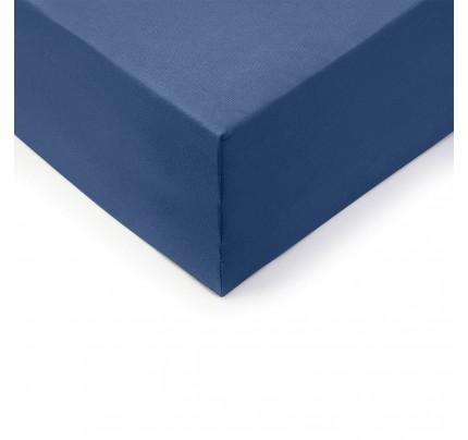 Pamučna plahta s gumicom Lyon XXL - plava