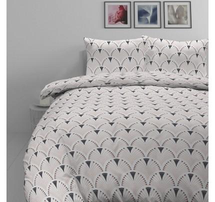 Pamučna posteljina Svilanit Art Deco