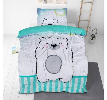 Dječja pamučna posteljina Svilanit Bear Hug