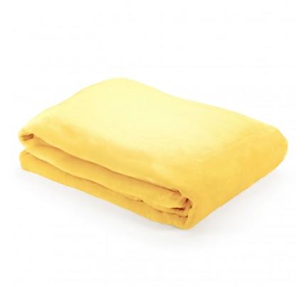 Dekorativni pokrivač Vitapur Anna - žuti