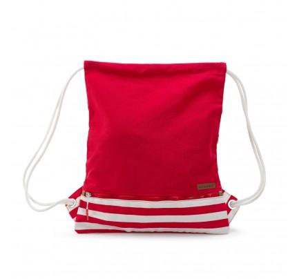 Vrećasti ruksak Svilanit - crveni