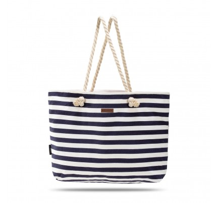 Velika torba za plažu Svilanit Nautica - plava