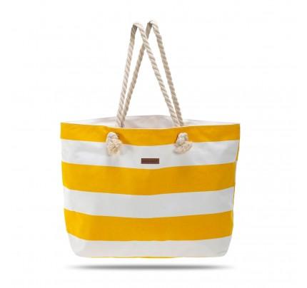Velika torba za plažu Svilanit Nautica - žuta