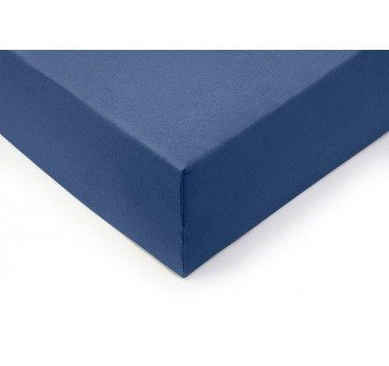 Pamučna plahta s gumicom Lyon - plava