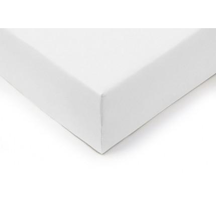 Pamučna plahta s gumicom Lyon - bijela