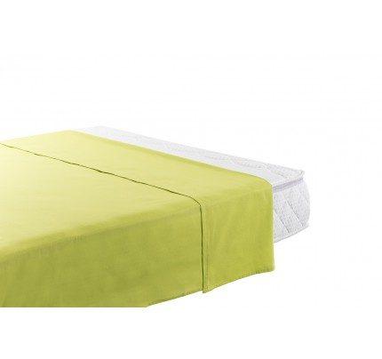 Gornja pamučna plahta Vitapur Family Selina - zelena