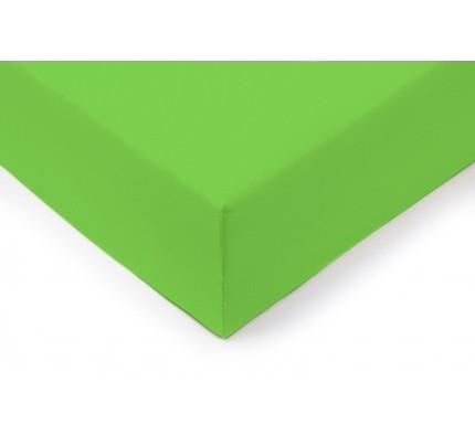 Pamučna plahta s gumicom Lyon - zelena