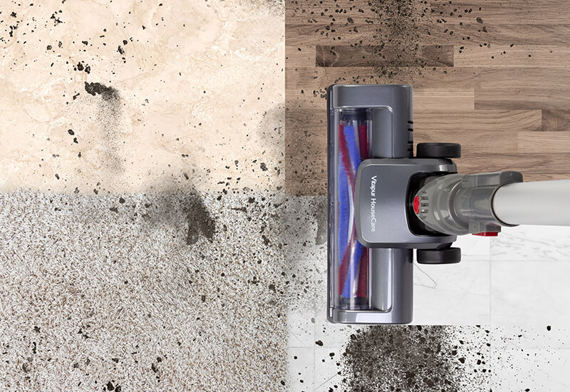 Jedna moćna četka za sve vrste podova i savršeni rezultat čišćenja