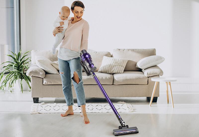 Napredni usisavač za čišćenje bez kablova i metle