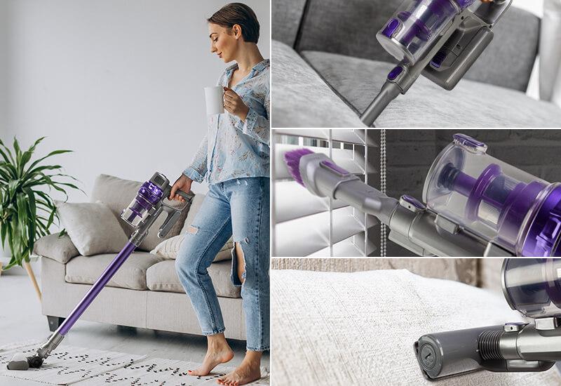 3 dodatna nastavka za potpuni napad na prašinu i nečistoću u vašem domu