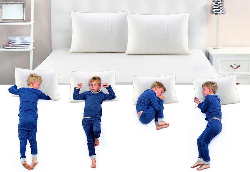 Idealan izbor za sve položaje spavanja djeteta