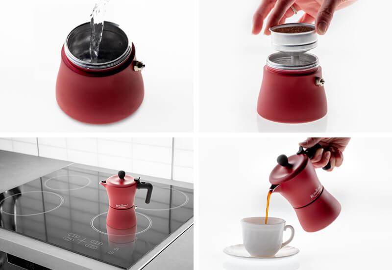 Priprema kave u samo 4 koraka