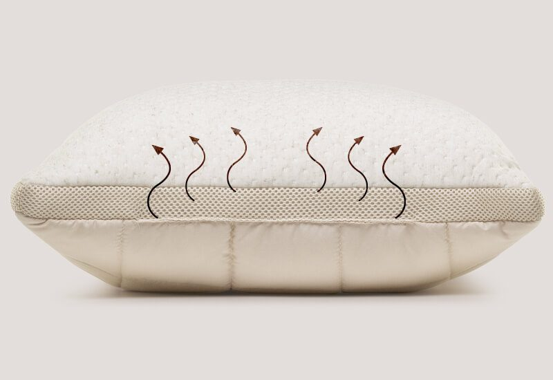 Navlaka sa AirMesh tkaninom za dodatnu svježinu i prozračnost