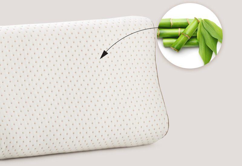 Navlaka s udjelom bambusovih vlakana za dodatnu svježinu i higijensko okruženje za spavanje