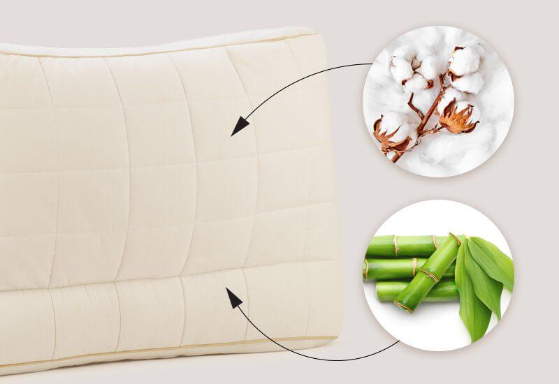 Navlaka od 100% nebijeljenog pamuka sa bambusovim vlaknima za dodatnu svježinu i higijenu