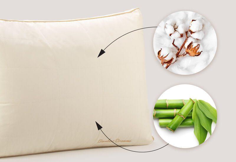 Navlaka od 100 % nebijeljenog pamuka s bambusovim vlaknima za dodatnu svježinu i  higijensko okruženje za spavanje