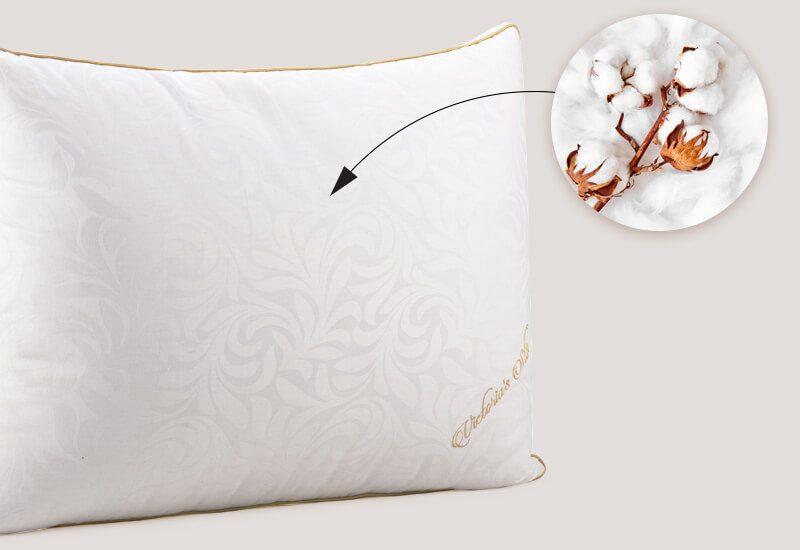 100% pamučna navlaka za svježinu i higijensko okruženje za spavanje