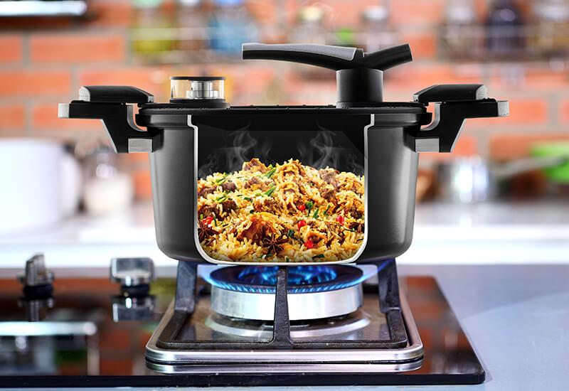 Odabrani kvalitetni materijali za brzo kuhanje i dug životni vijek