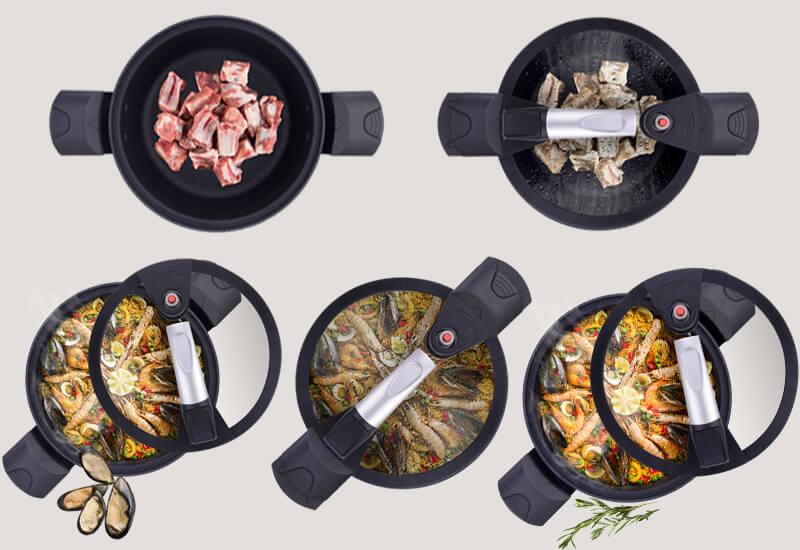 Svestrani lonac za razne namjene i kraće vrijeme kuhanja